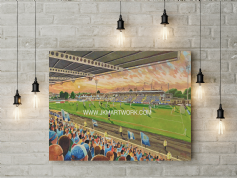 ballymena showgrounds  canvas a3 size